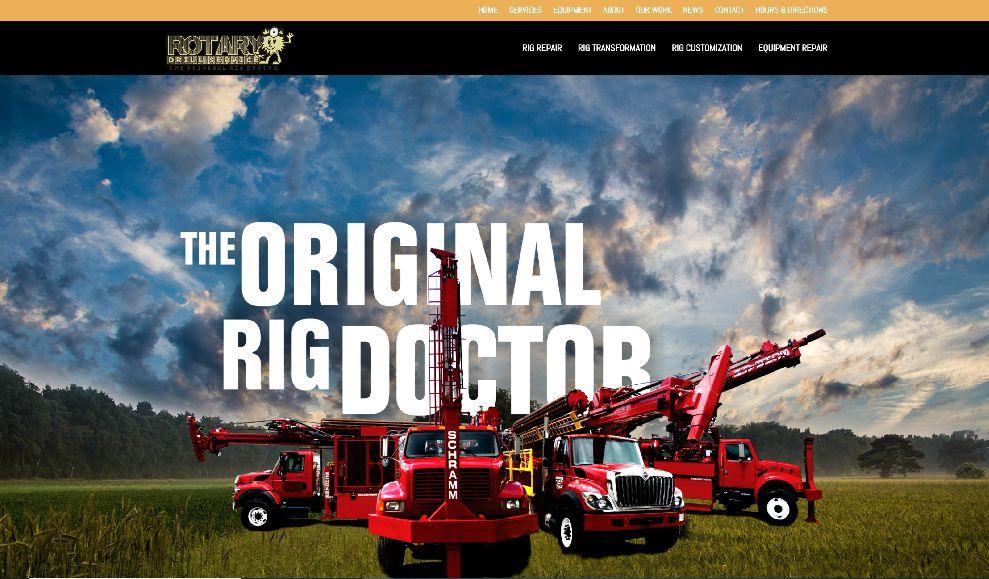 Rotary Drill Website